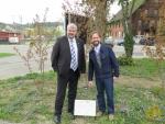 Thomas Köhler mit Stadtpräsident Michael Künzle