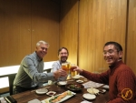 Mit Prof. Sohei Gomi