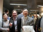 Thomas Köhler mit Yasushi Fukagawa (Minister-Counsellor) und seiner Frau