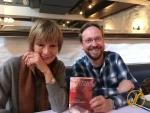 Thomas Köhler und Bestsellerautorin Federica de Cesco